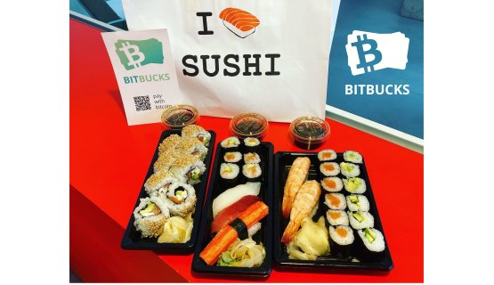 Pay with Bitcoin Stuttgart at I Love Sushi